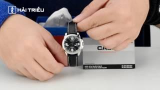 review casio ltp 1314l 8avdf đồng hồ hải triều