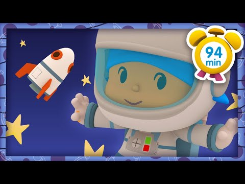 🚀 POCOYO in ENGLISH - Space Adventures [ 94 minutes ]   Full Episodes   VIDEOS and CARTOONS for KIDS