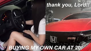 MY CAR IS HERE!!! (how i saved money, investments, quick tour) | Andrea Angeles