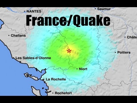 "Moderate quake rumbles Western France - ""IT WAS LOUD!"" - Residents woke in middle of night!"