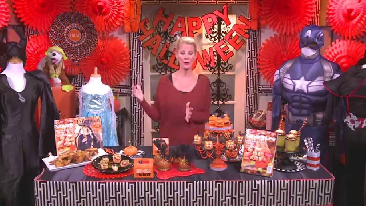 sandra lee halloween tips - youtube