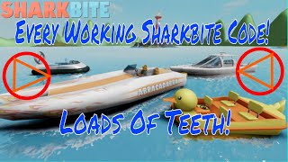 All Insane Sharkbite Codes! (Roblox) [Working December 2017] Lots Of Shark Teeth!