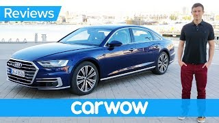 New Audi A8 2018 review - the most high-tech car ever? thumbnail