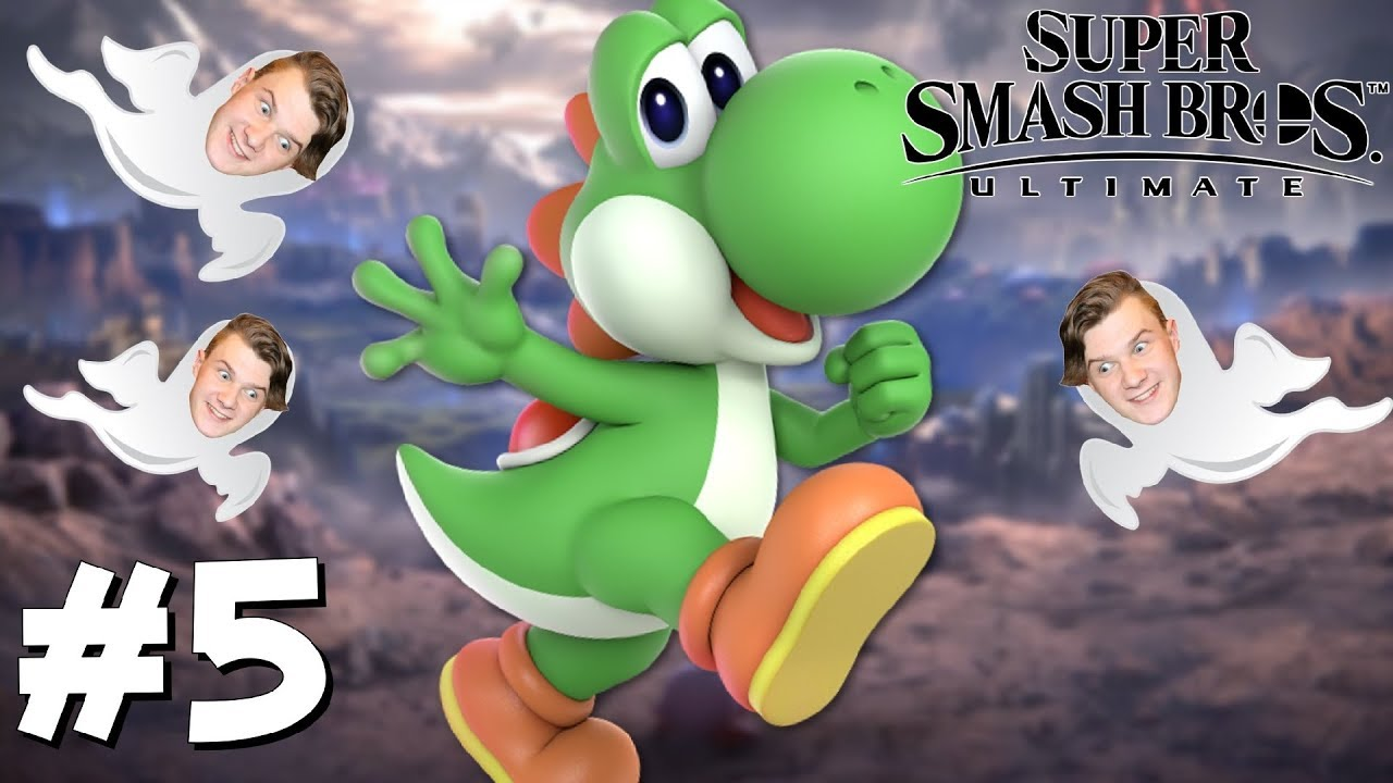 Yoshi In The World Of Light Super Smash Bros Ultimate Switch 5