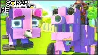 Scrap Mechanic | Cel mai MIC VS Cel mai MARE PORC! | Episodul 536