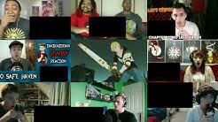 RWBY Volume 4 Finale - RNJR vs Nuckelavee Grimm Reaction Mashup