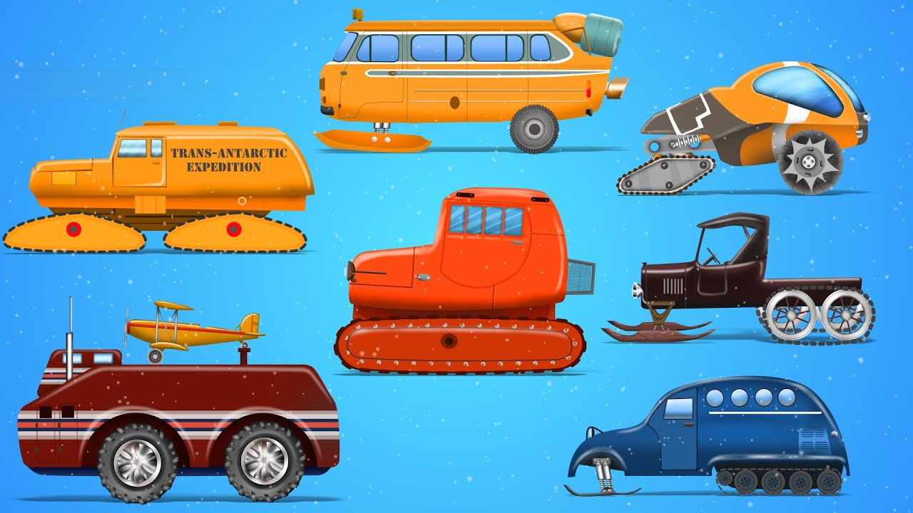 snow vehicles street vehicles learn transport with kids rhymes youtube. Black Bedroom Furniture Sets. Home Design Ideas