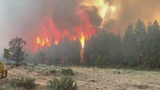 Western Washington firefighters deploy to Oregon to help battle Bootleg Fire
