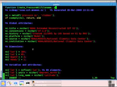 netcdf matlab cw