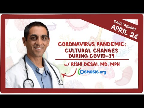 Cultural Changes During COVID-19: Coronavirus Pandemic—Daily Report With Rishi Desai, MD, MPH