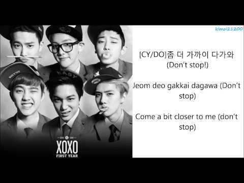 EXO-K - My Lady [Hangul/Romanization/English] Color Coded HD