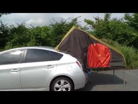 How To Start A Prius >> Prius Camper Review Exterior and Interior - YouTube