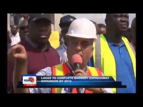 Lagos to complete Badagry expressway expansion by 2019