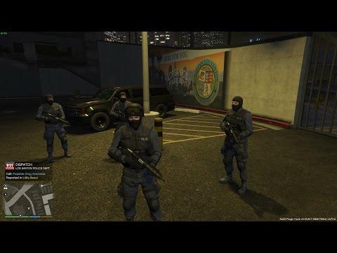 Op pad met de S.W.A.T [GTA 5] - KillaJ (LSPDFR)