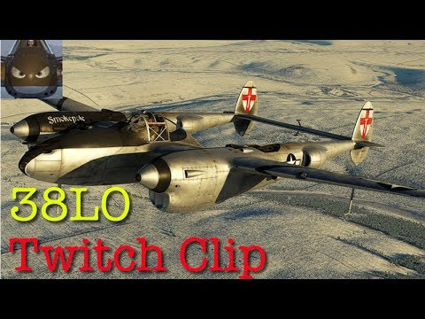 War Thunder SIM - Twitch Clip - P38.LO