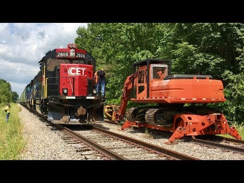 Railroad Track Put Back In Service! Shortline Railroad Chase And Update! CCET