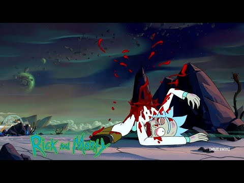 Rick And Morty 04x01 All Rick Death Scenes HD - Edge Of Tomorty: Rick Die Rickpeat