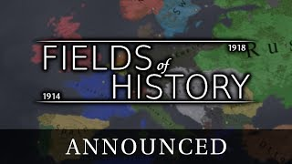 Fields of History: The Great War - Announcement Trailer