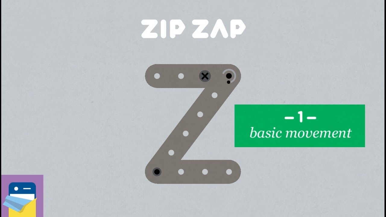Zip—Zap: Chapter 1 Basic Movement Walkthrough & iOS Gameplay (by Philipp  Stollenmayer / Kamibox)