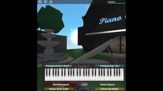 Unravel - Tokyo Ghoul by: Toru Kitajima on a ROBLOX piano. [Zugzwang Variation]