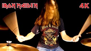 Hallowed Be Thy Name (Iron Maiden); drum cover by Sina