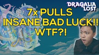 [DRAGALIA LOST] WTF HORRIBLE LUCK in 7x Tenfold Summons for Lucretia | An Enchanting Ensemble