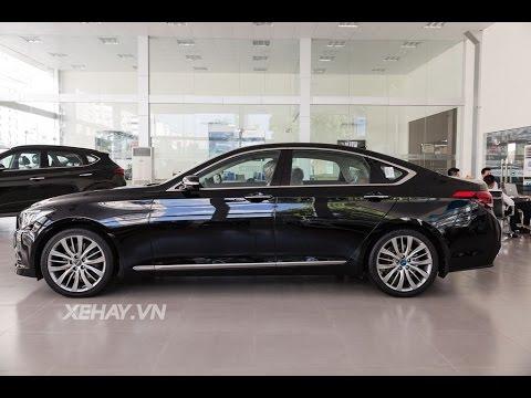 [XEHAY.VN] Hyundai Genesis sedan 2016 ngầu lộng lẫy giá 2,5 tỷ ở Hà Nội