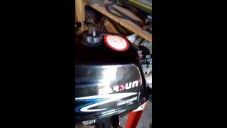 Parsun F 2.6 bms мелкий ремонт часть 1