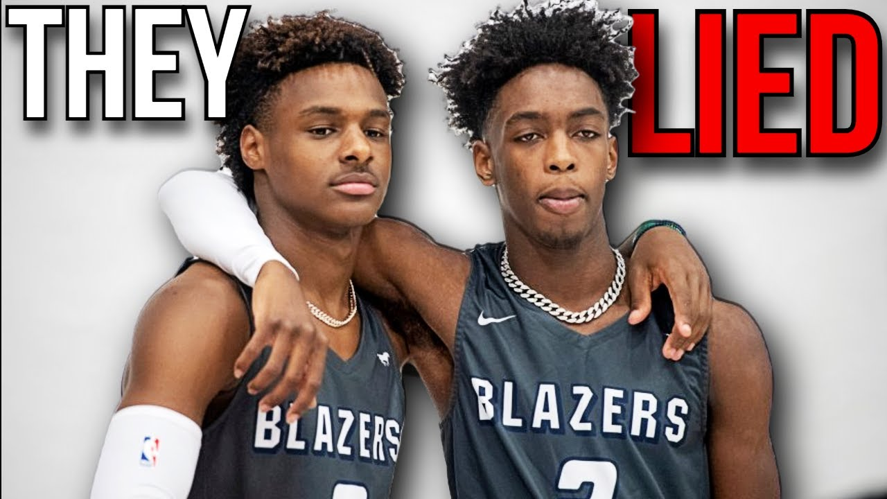 EXPOSING The LIES Being Told About The Bronny James & Zaire Wade