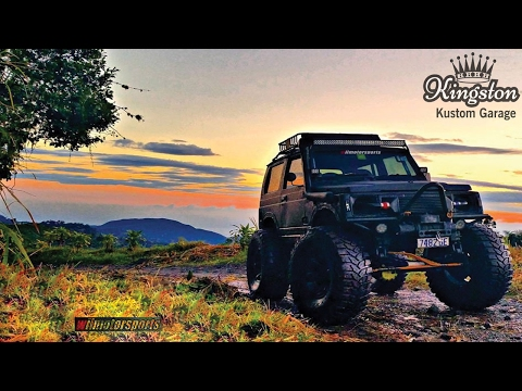 Modified Suzuki Samurai Off-Road 4X4 Turbo  - Kingston Jamaica Feature
