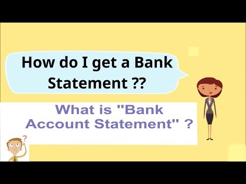 """'' HOW DO I GET A BANK STATEMENT'' /"""" bank account statement sample"""""""