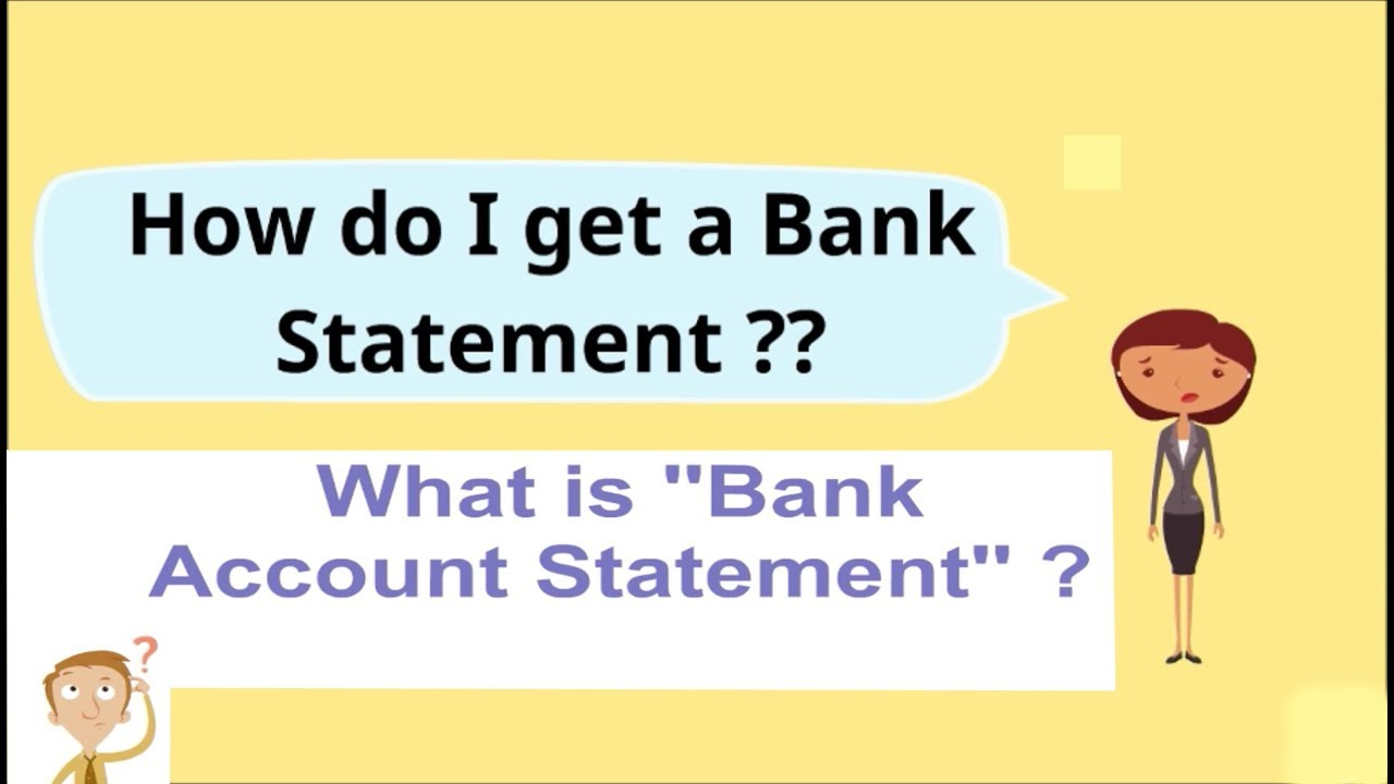how do i get a pdf bank statement