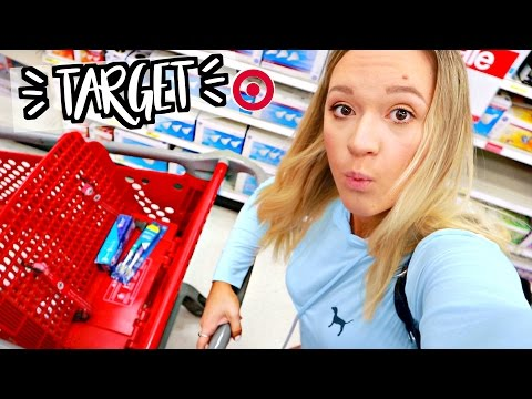 SHOPPING ALONE IN TARGET!! Alisha Marie Vlogs