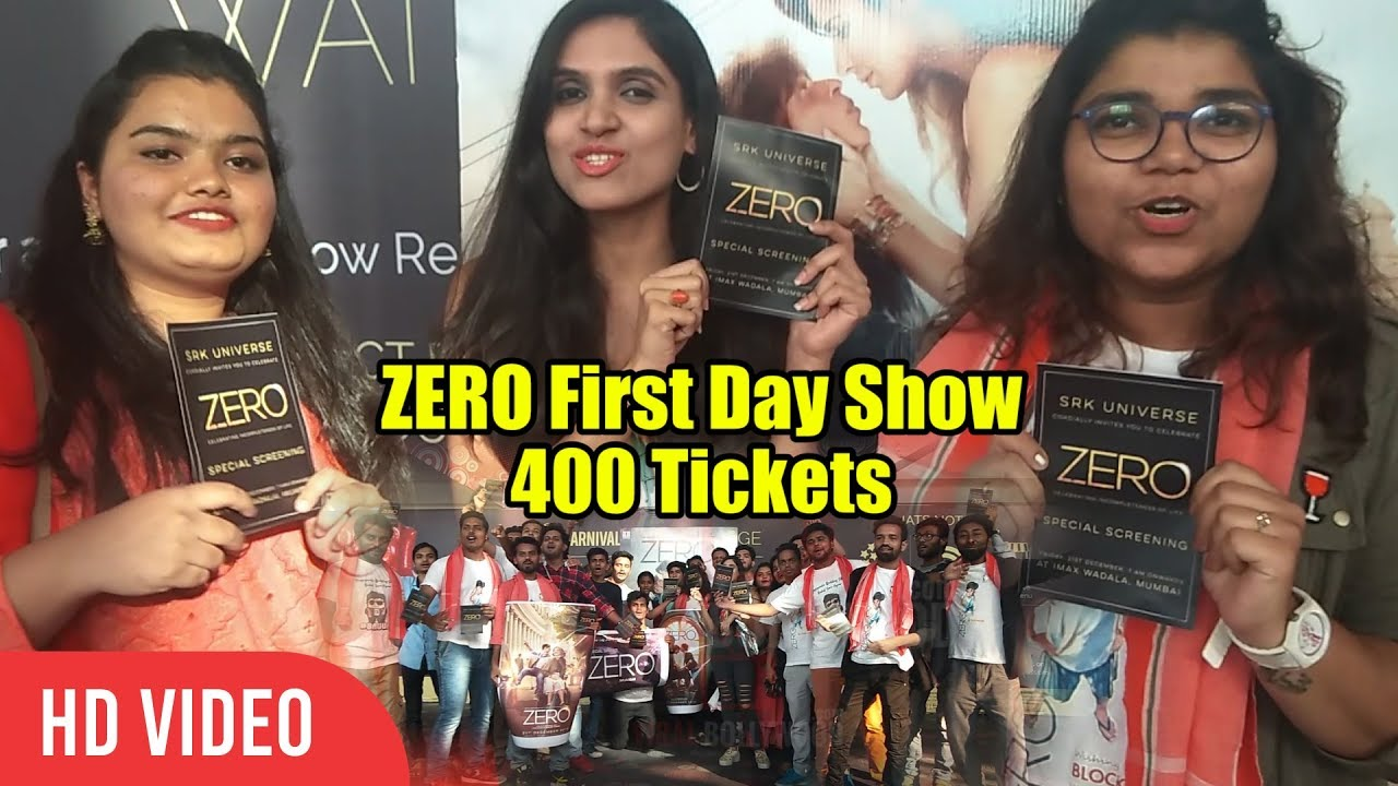zero movie first day collection