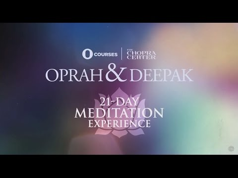 Oprah and Deepak 21-Day Meditation Experience
