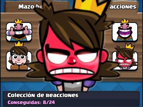 Nuevas Reacciones en Clash Royale