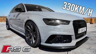 330KM/h cu Audi RS6 *BALENA DE 700 CAI*