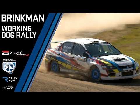 EVO Rally Time - Brinkman and Smith take on States Best Rally Drivers