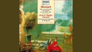 Concerto for 2 Pianos and Orchestra in E-Flat Major, K. 365: II. Andante