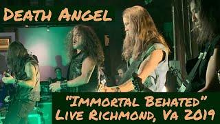 "Death Angel ""Immortal Behated"" Live Richmond, Virginia December 5th, 2019"
