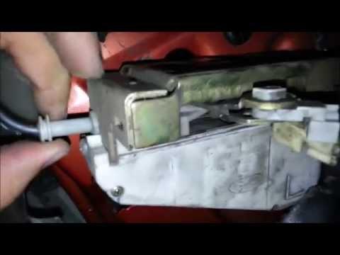 Desarme Cerradura Ford Fiesta Mk4 Youtube