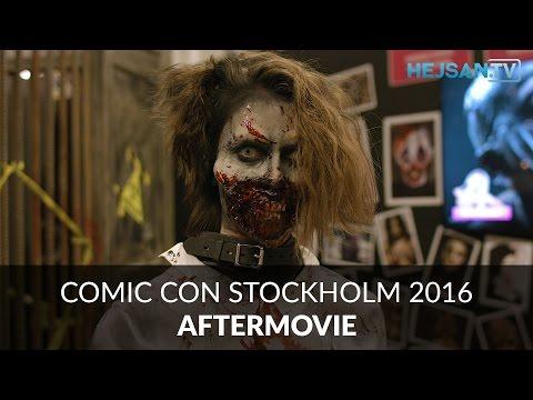 Comic Con Stockholm 2016 - Aftermovie