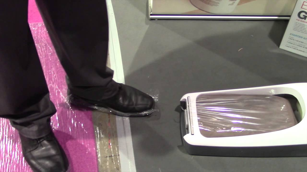 Trimaco Ez Floor Guards Plastic Film Shoe Protection System By The Weekend Handyman Youtube