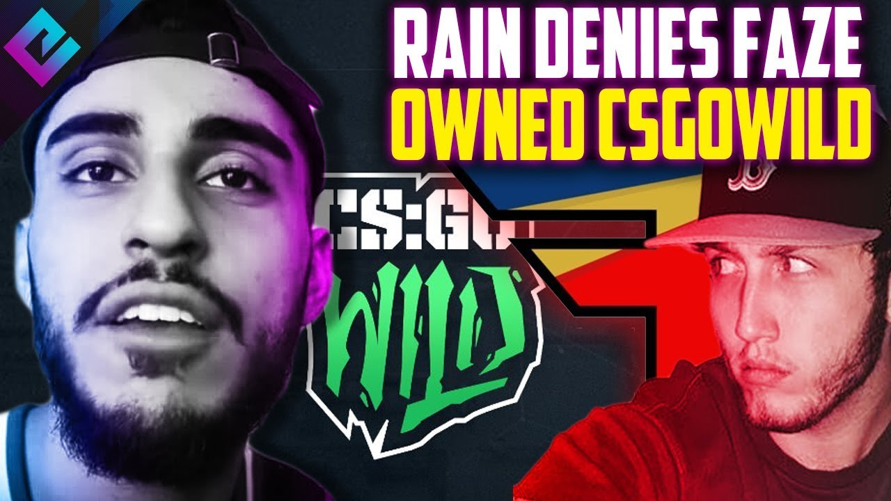 csgowild betting faze rain