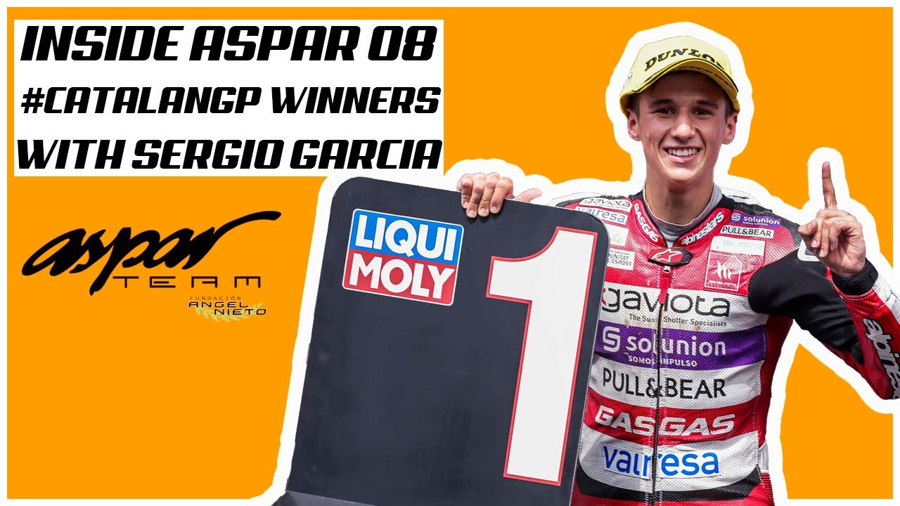 Inside Aspar 08 - Sergio García wins again!