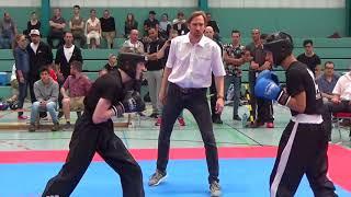 Gambar cover Kickboxen: Kevin Banzhaf - Francisco Grosch (Landesmeisterschaft WAKO - BaWü #2)