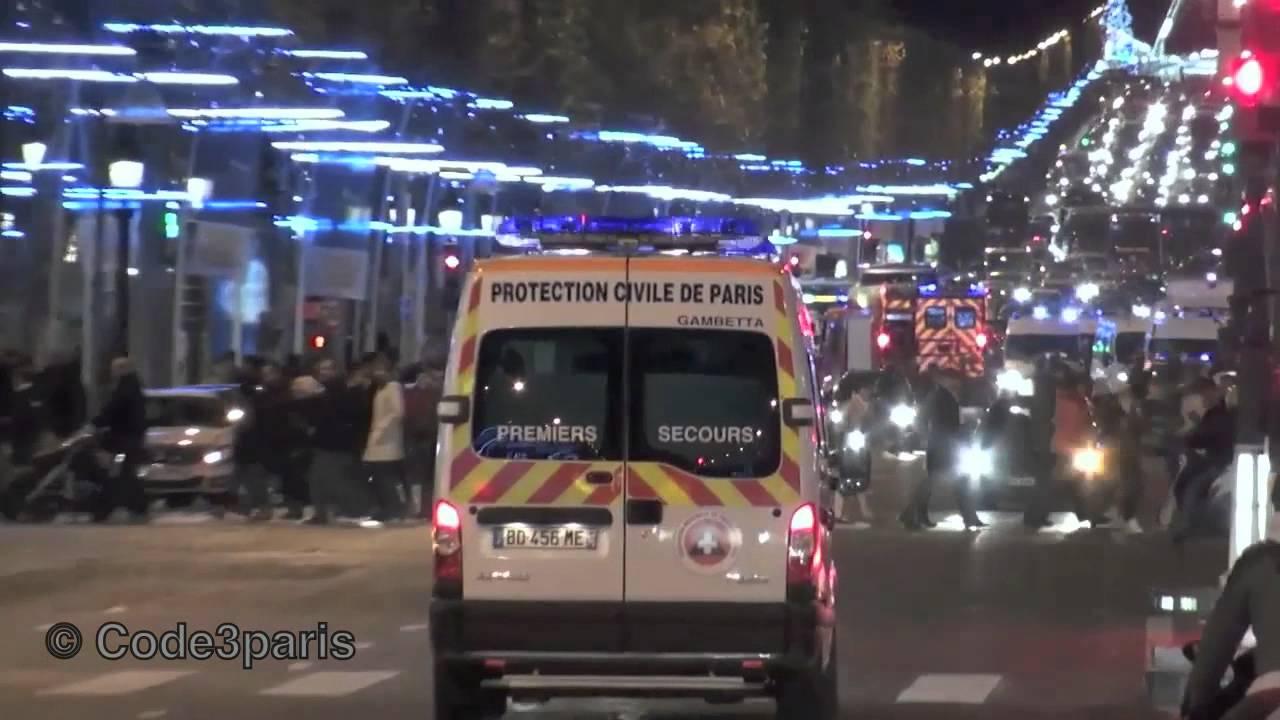 civil protection ambulance responding protection civile de paris youtube. Black Bedroom Furniture Sets. Home Design Ideas