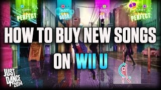 How to Buy New Songs on Wii U | Just Dance 2014