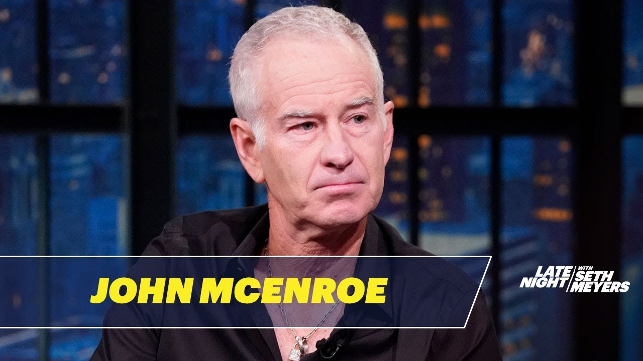 John McEnroe Would Like to See More Trash Talking in Tennis