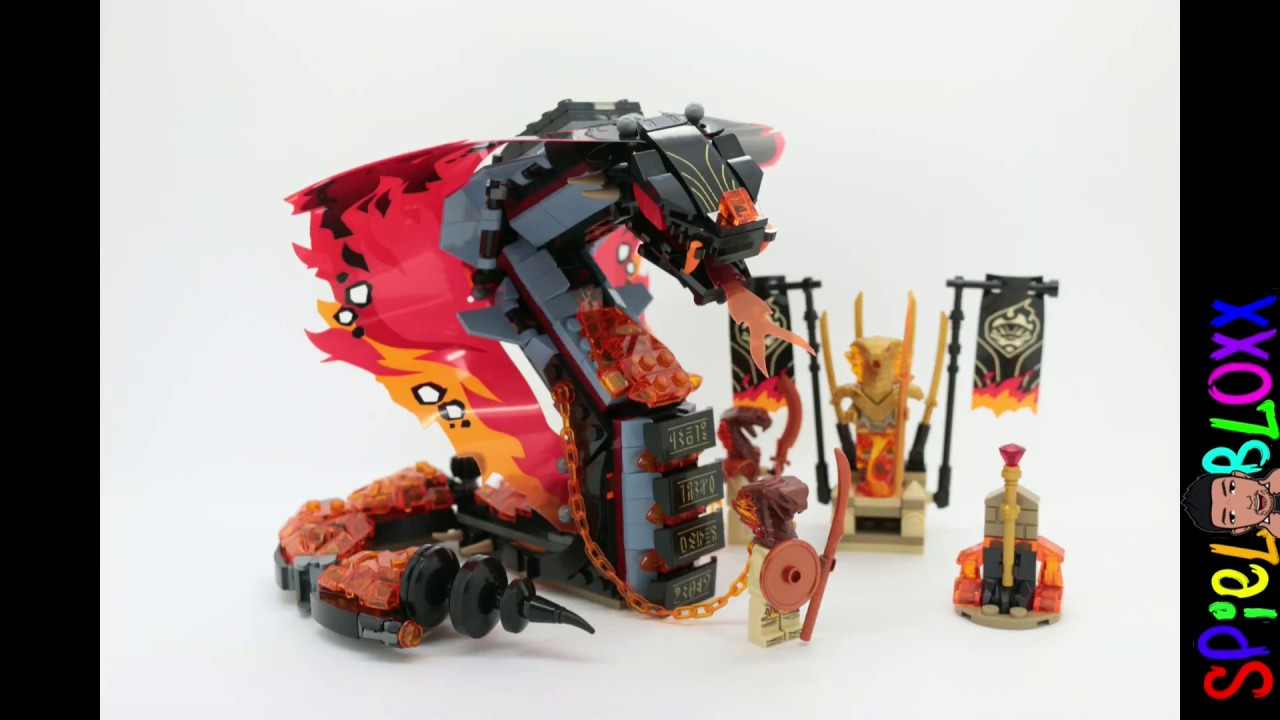 schlange ninjago  lego ninjago set 9445